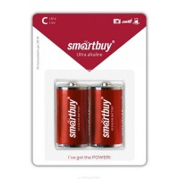 Батарейка R14 (343 элемент) Smartbuy Alkaline