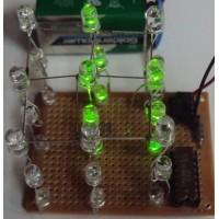 Радиоконструктор 031 - Простой светодиодный 3D куб